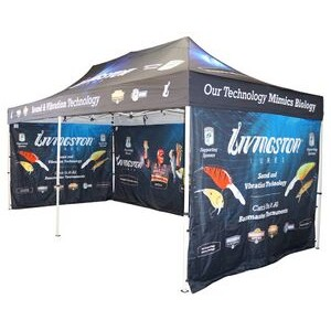Pop Up Canopy Tent (10'x20') w/ Aluminum Frame (Digital)