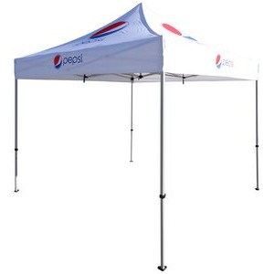Pop Up Canopy Tent (10'x10') w/ Lightweight Steel Frame (Digital)