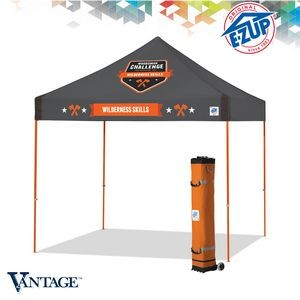 Vantage™ 10' x 10' Multi Color Print Tent w/ Steel Frame