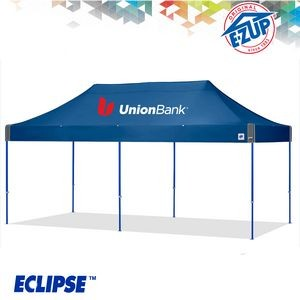 Eclipse™ 10' x 20' Color Imprint Professional Tent w/ Steel Frame