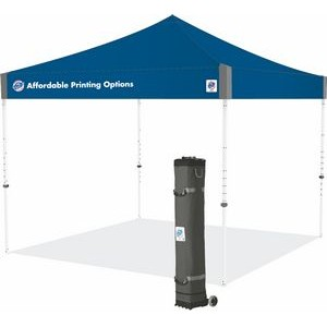 Pyramid™ 10 x 10 Color Imprint Tent w/ Steel Frame