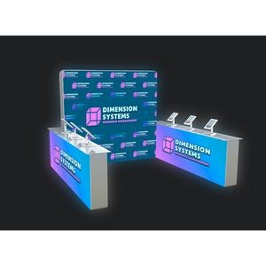 Portable Light Box Exhibition Booth TYPE A