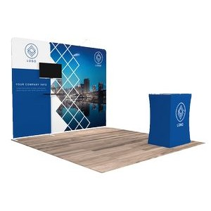 10'x10' Quick-N-Fit Booth - Package # 1111