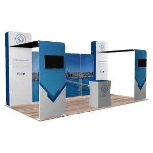 10'x20' Quick-N-Fit Booth - Package # 1201